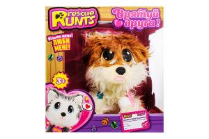 Набір іграшковий для дітей від 3рок №S19012 Померанський шпіц Rescue Runts 1шт