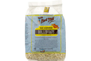 Bob's Red Mill Old Fashioned Rolled Oats Whole Grain