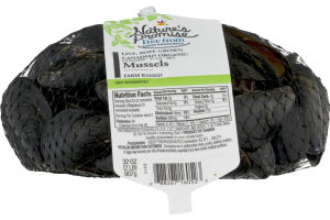 Nature's Promise Live, Rope Grown Organic Mussels