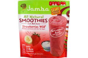 Jamba All Natural Smoothies Strawberries Wild