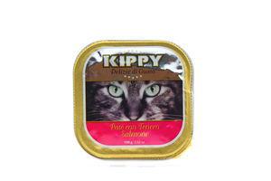 Корм Kippy для котів з лососем 100г