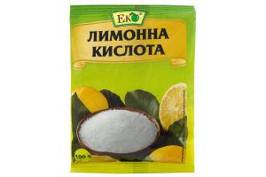 Кислота лимонная Эко