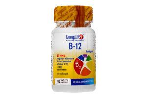 Добавка диет Long Life Витамин В 12