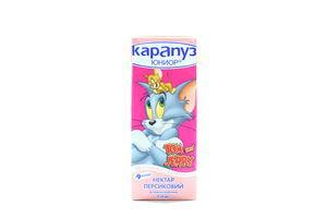Нектар Карапуз Юниор персиковый с мякотью витамин т/п 200мл