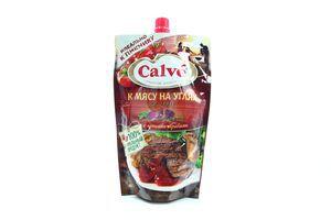 Кетчуп к мясу на углях Calve д/пак 350г