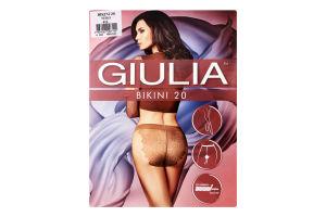Колготки жіночі Giulia Bikini 20den 4-L nero