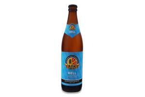 Пиво 0.5л 5% світле фільтроване непастеризоване Hell Das Blaue ABK пл