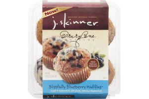 J. Skinner Drury Lane Muffins Blissfully Blueberry - 4 CT