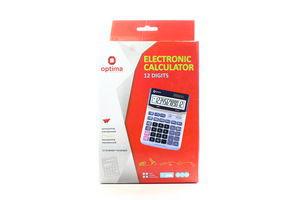 Калькулятор Optima настільний електронний 75501