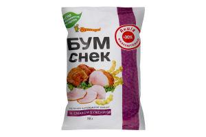 Палички кукурудзяні солоні зі смаком буженини Бум Снек Бумкорн м/у 30г
