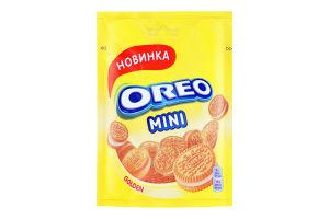 Печиво з начинкою з ванільним смаком Mini Golden Oreo д/п 100г