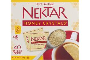 Nektar Honey Crystals 100% Natural - 40 CT