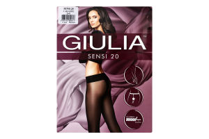 Колготки жіночі Giulia Sensi 20den 2-S caramel