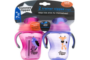 Tommee Tippee Trainer Sippee Cups 7m+ - 2 CT