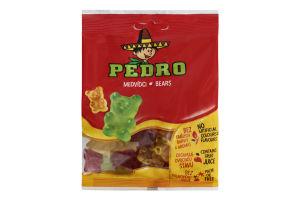 Цукерки желейні з фруктовим соком Ведмедики Pedro м/у 80г