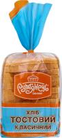 Хліб нарізний Тостовий Класичний Рум'янець м/у 350г