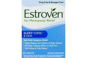 Estroven Nighttime Multi-Symptom Menopause Relief Caplets - 30 CT