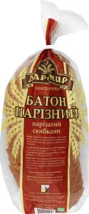 Батон нарезной нарезаный Миргородский ХЗ