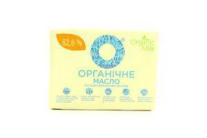 Масло Organic Milk Екстра органічне 82,6% 200г *10
