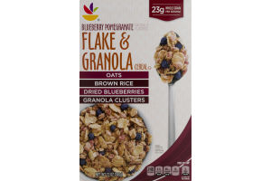 Ahold Flake & Granola Cereal Blueberry Pomegranate