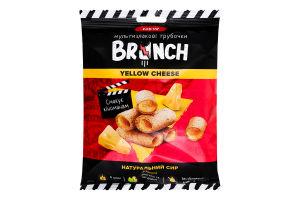 Трубочки мультизлакові зі справжнім сиром Yellow Cheese Brunch м/у 120г