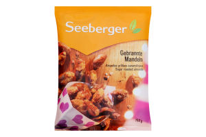 Мигдаль Seeberger смажений в цукрі 150г