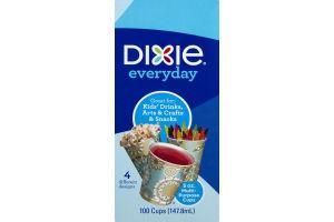 Dixie Everyday Multi-Purpose Cups 5oz - 100 CT