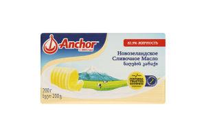 Масло сладкосливочное 82.9% Новозеландское Anchor м/у 200г