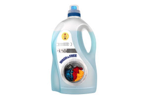 Гель для стирки универсальный Wash&Free 5000г