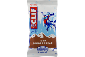 Clif Bar Energy Bar Iced Gingerbread