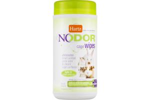Hartz Nodor Cage Wipes - 30 CT