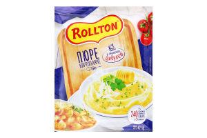 Пюре картопляне зі смаженою цибулею Rollton м/у 40г