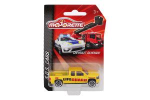 Машинка для детей от 3лет 7.5см №2057181 SOS Cars Majorette 1шт