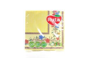 Серветки 3-х шарові Ruta Art Етнічні 18л