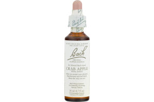 Bach Original Flower Essences Crab Apple