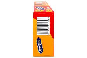 McVitie's Oat Crunch Milk Chocolate to go 37,5х12х6 Вівсяне печиво з цільнозерн. борошна вкрите