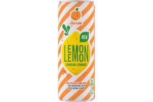 Lemon Lemon Sparkling Lemonade Peach Flavor