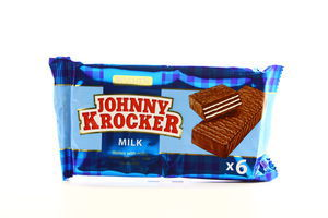 Вафли Johnny Krocker Milk Roshen м/у 120г