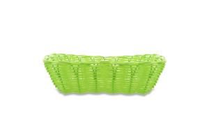 Корзина Eat&Drink плетеная зеленая D-03