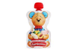 Пюре для дітей від 6міс Фруктовий салат Bambolina д/п 90г