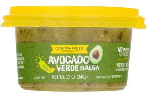 Garden Fresh Gourmet Verde Salsa Avocado Mild