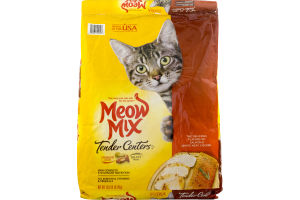 Meow Mix Cat Food Tender Cuts Salmon & White Meat Chicken