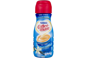 Nestle Coffee-mate Fat Free Coffee Cream French Vanilla