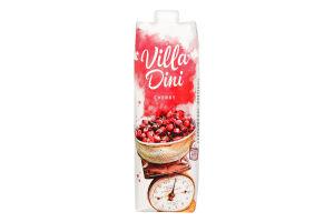 Нектар вишневый пастеризованный осветленный Villa Dini т/п 1л