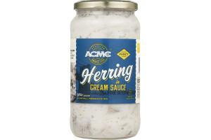 Acme Smoked Fish Herring in Cream Sauce
