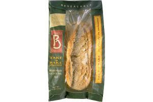 La Brea Bakery Take 'n Bake Rosemary Olive Oil Loaf Artisan Bread