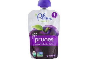Plum Organics Just Prunes Organic Baby Food