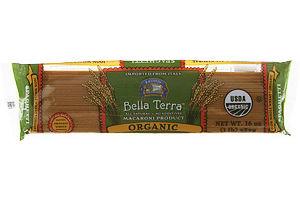 Bella Terra Organic Macaroni Product Spaghetti