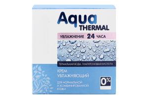 Крем для лица для нормальной и комбинированной кожи Увлажняющий Aqua Thermal Dr.Sante 50мл