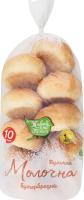 Булочка бутербродна Молочна Живий хліб Полісся м/у 10х25г